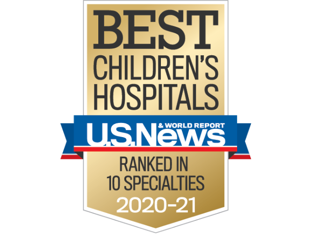 US News Nationally Ranked in Ten Specialties 2020-21